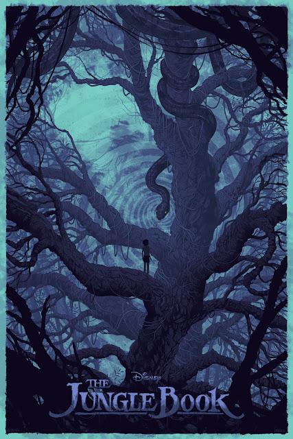 The Jungle Book Hypnovariant Screen Print by Daniel Danger x Mondo x Cyclops Print Works