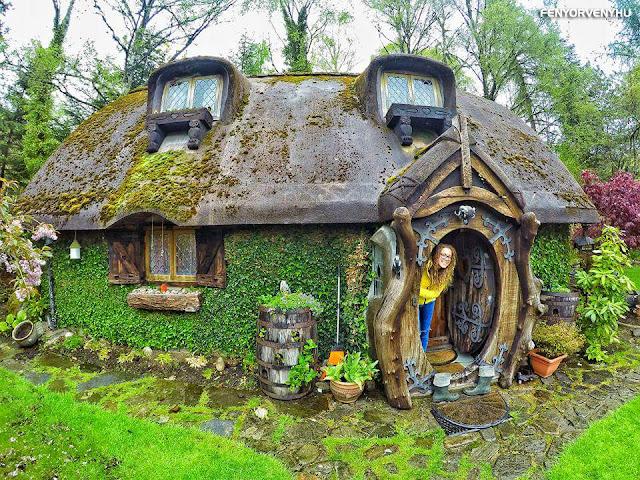 Igazi hobbit ház az Egyesült Királyságban