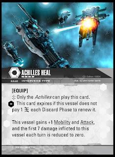 Intervene type: Achilles Heal legendary card