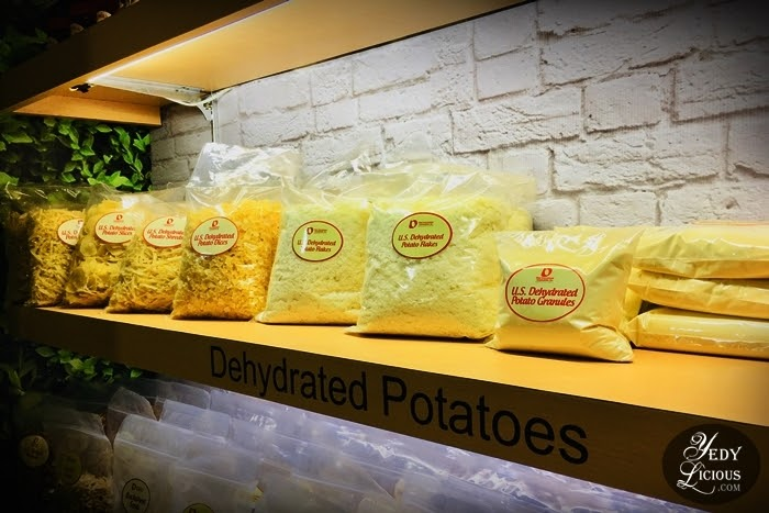 Top Three Reasons Why You Should Use U.S. Dehydrated Potatoes, Getting To Know U.S. Dehydrated Potatoes, YedyLicious Manila Food Blog, Where To Buy US Dehydrated Potatoes in Manila, Where To Buy Instant Mashed Potato, Potato Starch, Dried Potato in Manila Philippines