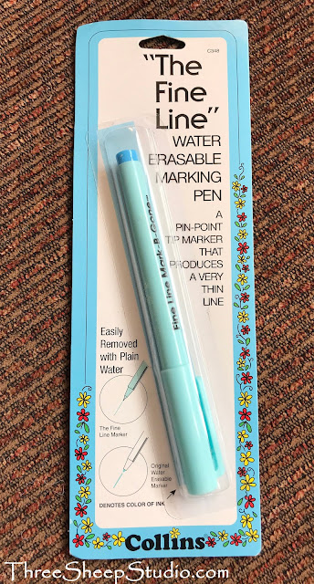 Fine Line Erasable Marking Pen