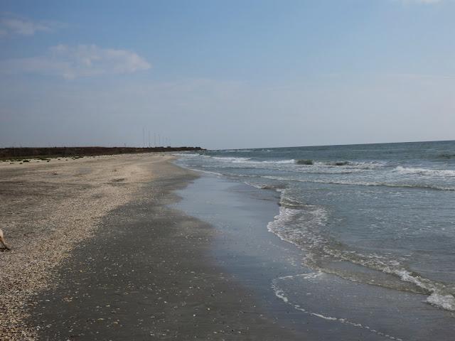 Plaża Corbu nad Morzem Czarnym