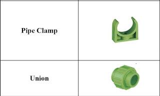 Harga Clamp dan Union Pipa P-PR LESSO