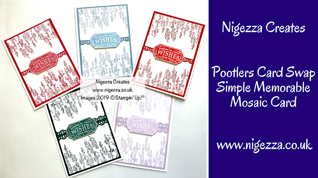 Nigezza Creates with Stampin' Up! Memorable Mosaic