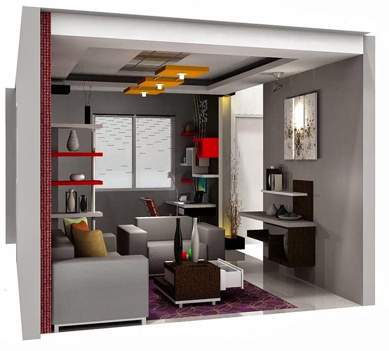 Interior Ruang Santai Minimalis Modern 2014 | Desain ...