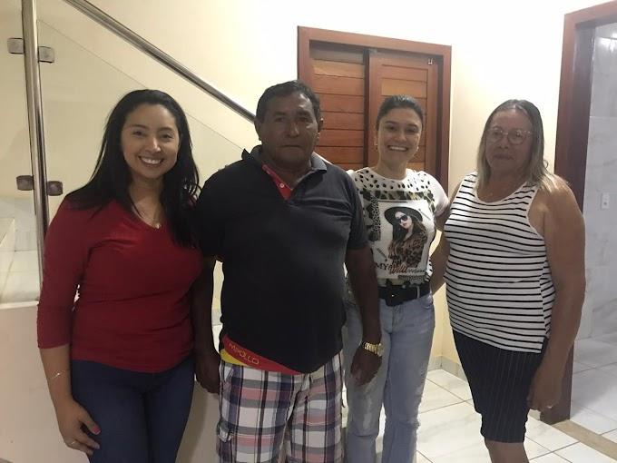 Através da vice Prefeita Aninha de Berré, empresário de Queimadas declara apoio ao projeto politico da Pré-candidata Aize e Messias