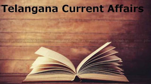 Telangana Current Affairs