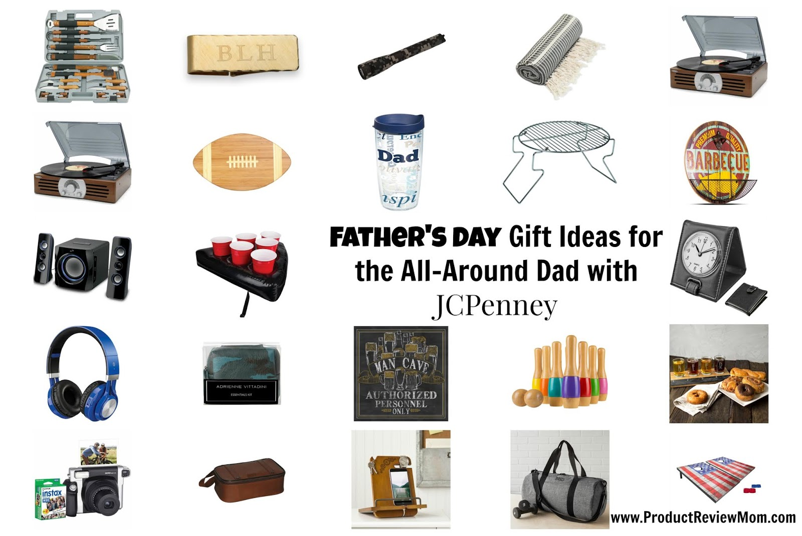 Father's Day Gift Ideas for the All-Around Dad with JCPenney  via  www.productreviewmom.com
