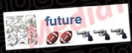 future murder russell wilson emoji