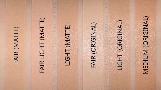 It Cosmetics Your Skin But Better CC Cream Oil-Free Matte Swatches Fair Light Medium NC20 NW20 NC30