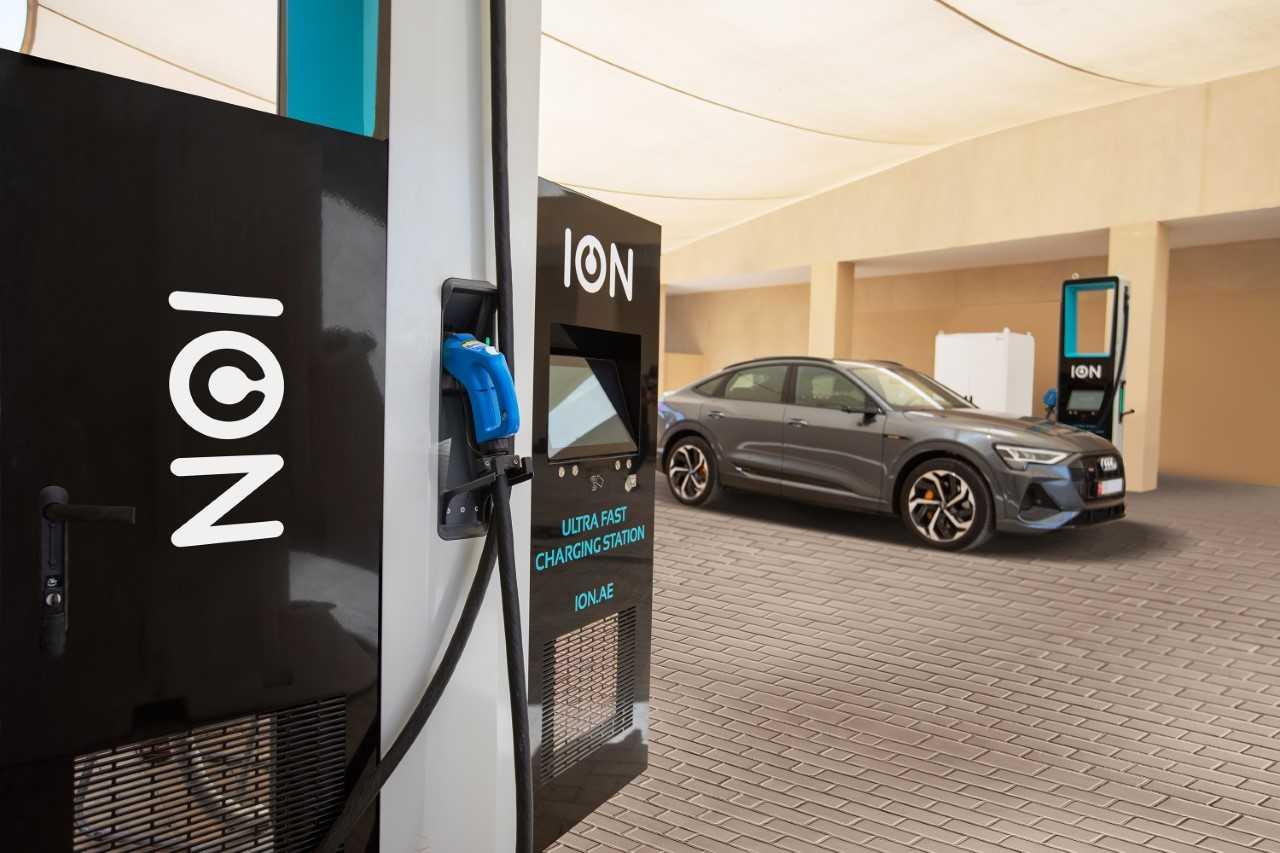 ION installs GCC-first ultra-fast EV charging stations in Abu Dhabi