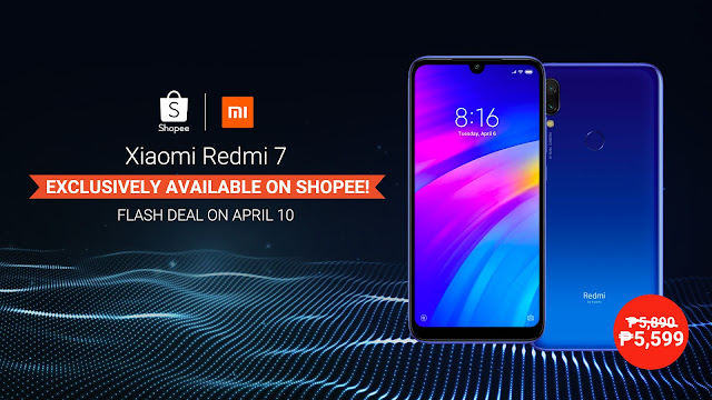 Redmi 7 returns for an exclusive Flash Deal on Shopee