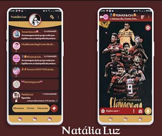 Flamengo Theme For YOWhatsApp & Fouad WhatsApp By Natalia Luz