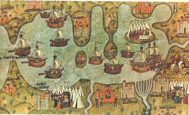 Mediterrani Oriental, segle XIII