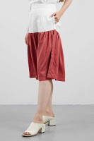 BerryBenka Rok Halina Skirt Red ANDHIMIND