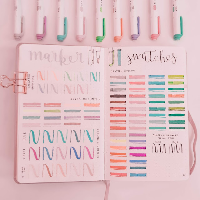 36 Bullet Journal Layout Ideas for When You are Bored
