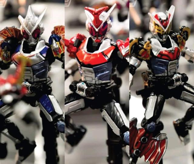 Kamen Rider Zi-O: Blade, Kabuto & Kiva Armor!