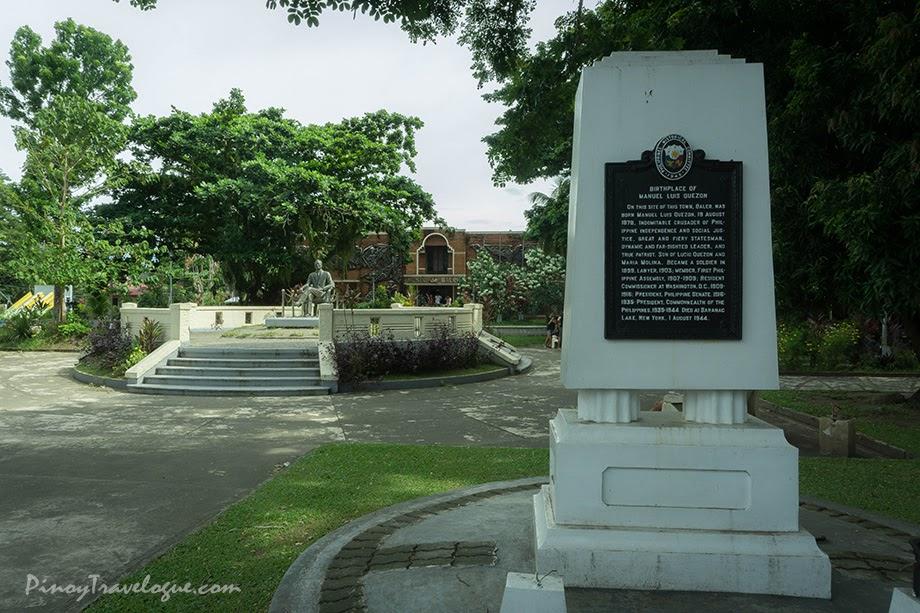 Quezon Memorial Park, Baler