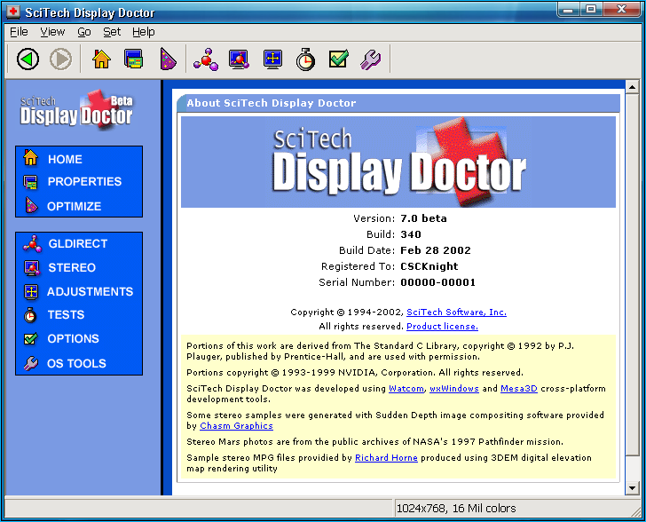 SciTech Display Doctor 7 | Operating System Revival