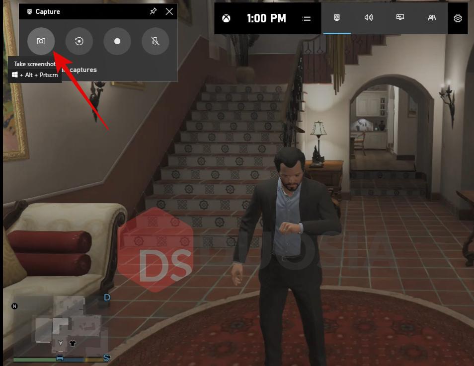 cara screenshot saat bermain game windows