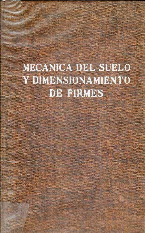 Mecánica del suelo y dimensionamiento de firmes – R. L'Herminier