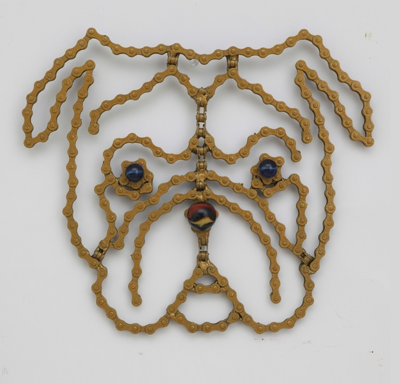 13-Lord-Maximus-Nirit-Levav-Recycled-Bicycle-Parts-used-for-Unchained-Dog-Sculptures-www-designstack-co