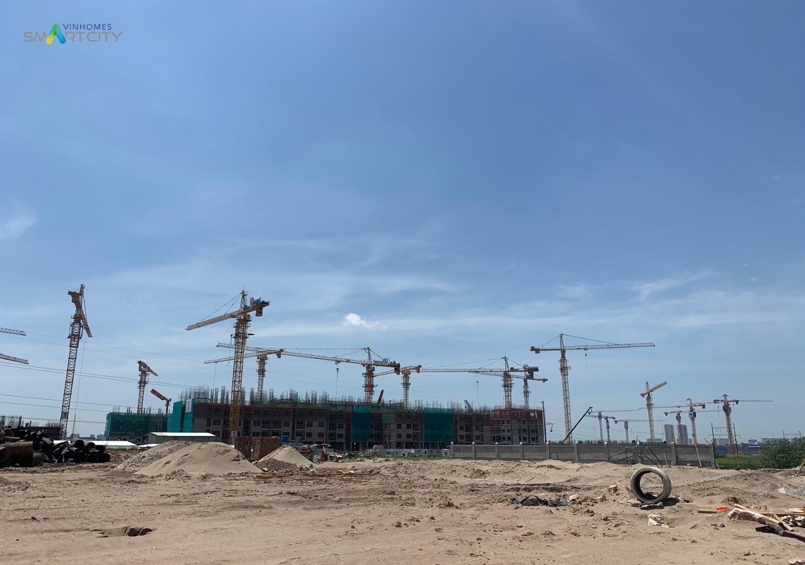 Cập nhật tiến độ xây dựng Vinhomes Đại Mỗ tháng 6/2019