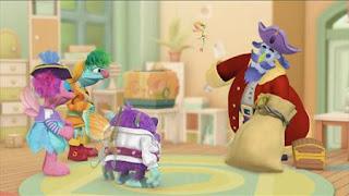 Abby Cadabby, Blögg, Gonnigan, Mrs. Sparklenose, Captain Hook, Abby's Flying Fairy School Treasure Hunt, Sesame Street Episode 4411 Count Tribute season 44
