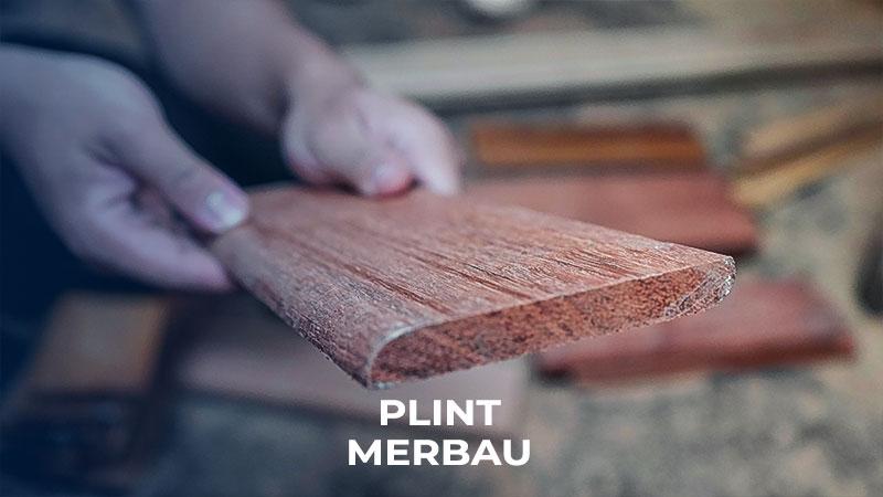 plint kayu merbau