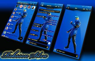 Ninja Fortnite Theme For YOWhatsApp & Fouad WhatsApp By Robsson