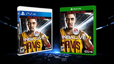 NBA Live 14 Official Box Art for PS4 and Xbox One