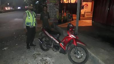 Polsek Kalimanah Mengamankan Satu Unit Sepeda Motor Tanpa Diketahui Pemiliknya