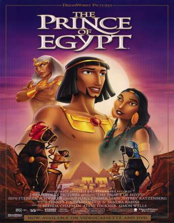 Poster Of The Prince of Egypt 1998 English 300MB BRRip 480p Free Download Watch Online