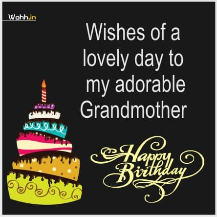 Happy Birthday Quotes For Grandma