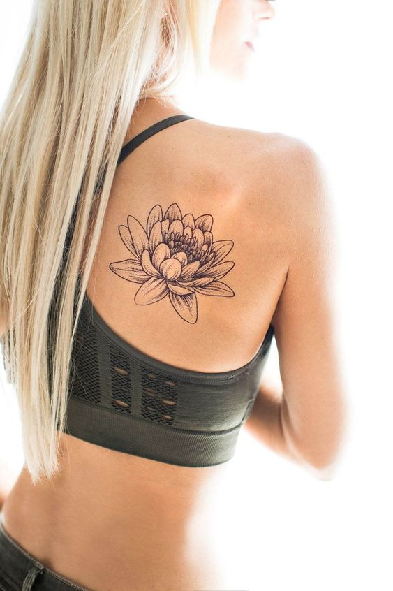 What is the meaning of the Lotus tattoo pattern?