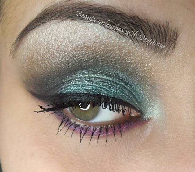 mint smokey eyes