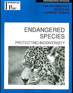 ENDANGERED SPECIES PROTECTING BIODIVERSITY