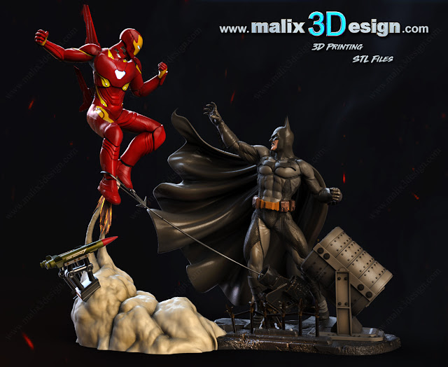 3d model stl for 3d printing on malix3design by sanix