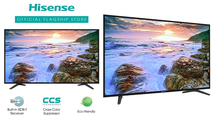 HiSense 43-inch ISDB-T TV Shopee 8.8 Sale