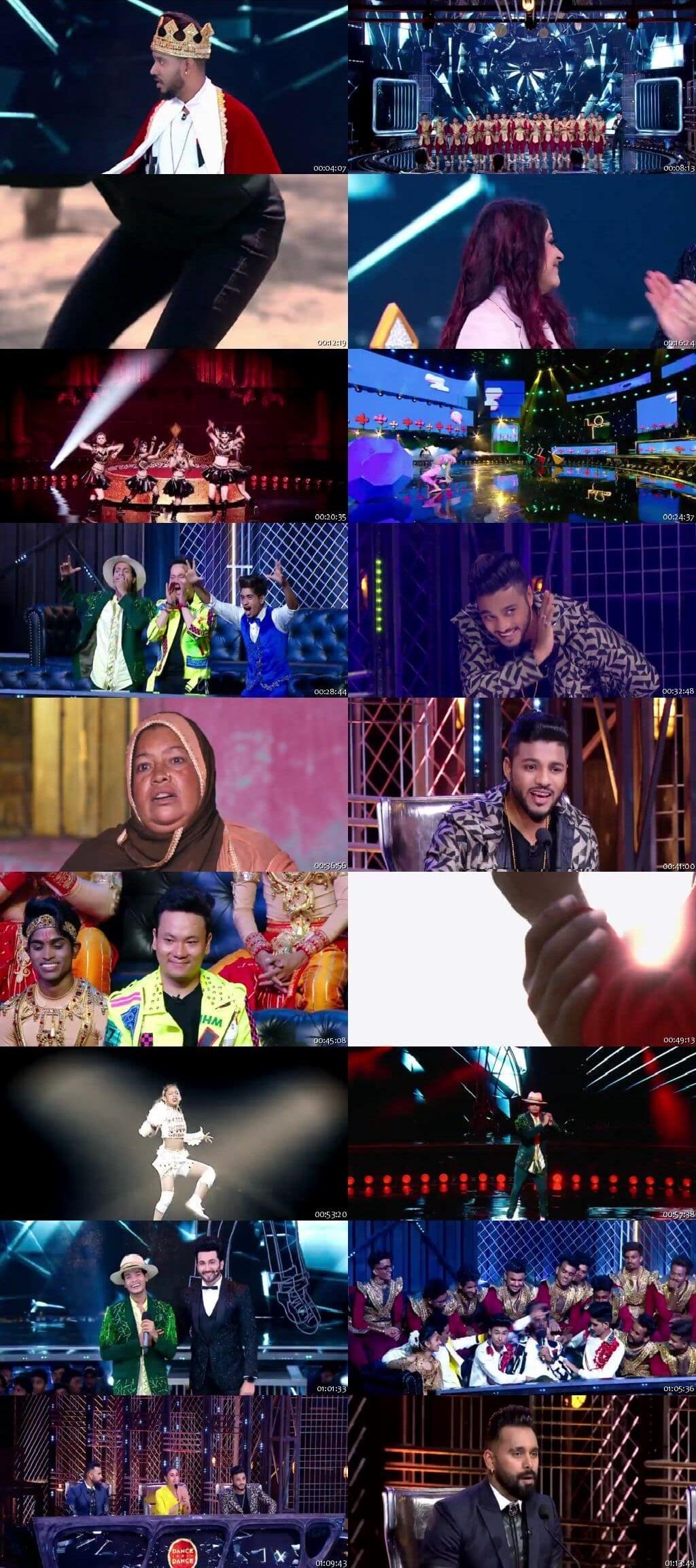 Screenshots Of Hindi Show Dance India Dance Battle of the Champions Season 7 23rd June 2019 Episode 02 300MB 480P HD