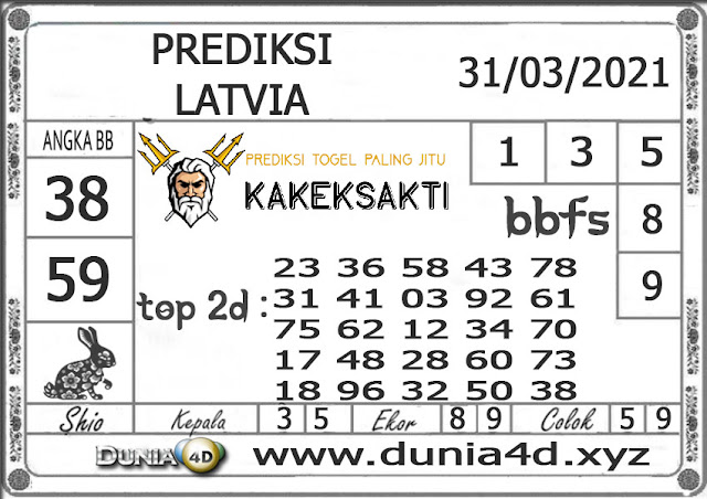 Prediksi Togel LATVIA DUNIA4D 31 MARET 2021