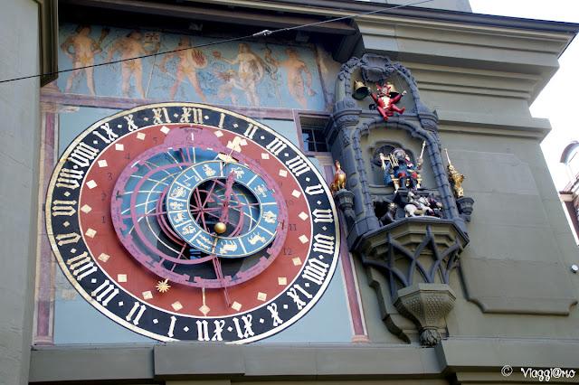 Particolare dell'orologio astronomico della Torre dell'Orologio