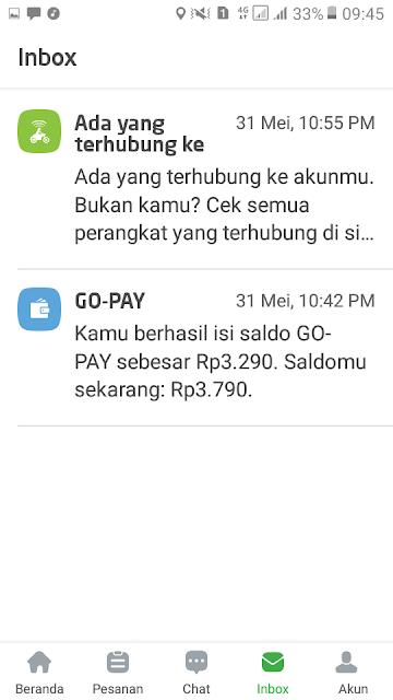 Test Payout Gopay