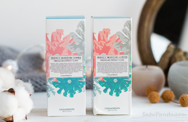 ONSAEMEEIN Perfect Moisture Toner and  Lotion review