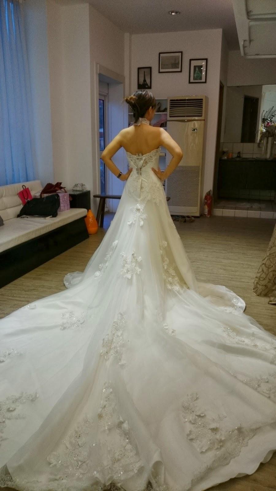 Joanne Hwang 教學宅急便: 【Wedding。挑宴客婚紗】