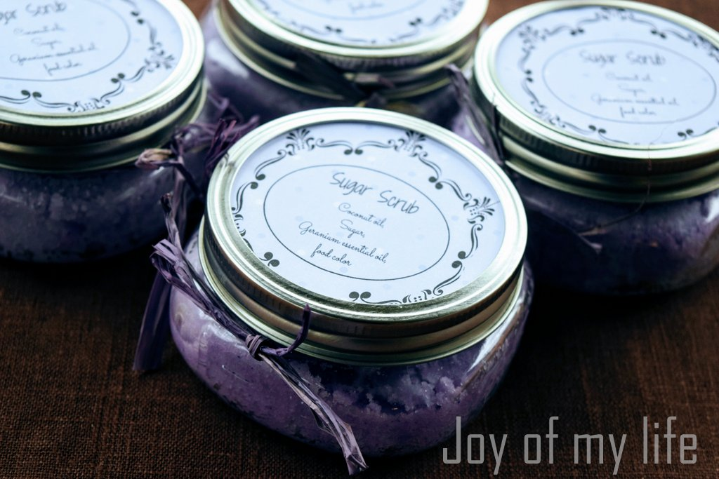 Homemade Hand Warmers and Sugar Scrubs