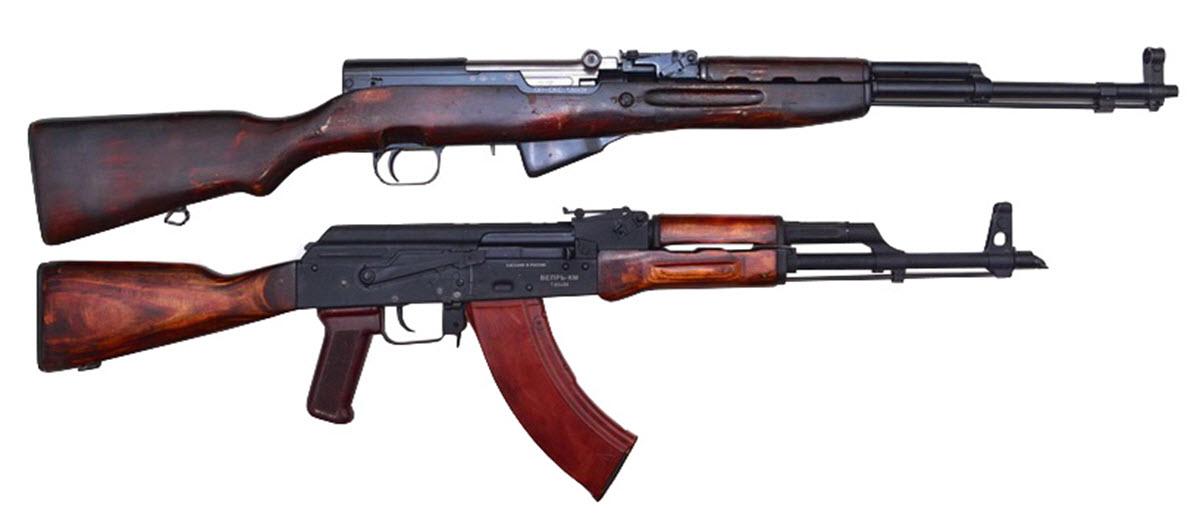 7,62-мм самозарядний карабін Симонова (СКС)