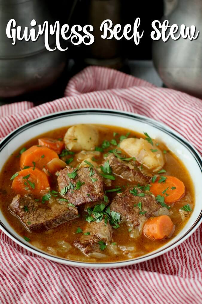 Beef Stew with thyme, garlic, carrots, and potatoes