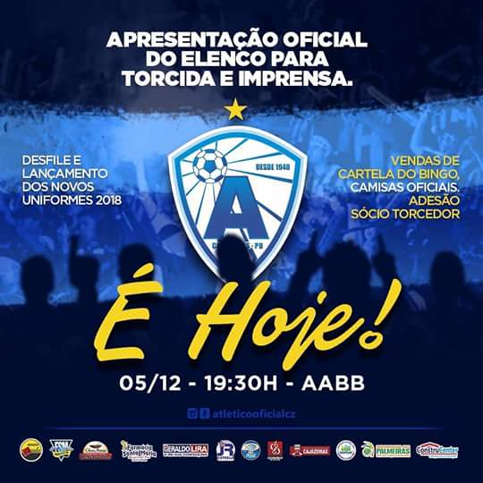 MARTIR ESPORTES  Trovão Azul apresenta elenco nesta terça a noite na ... 1d62df0c0f0f9