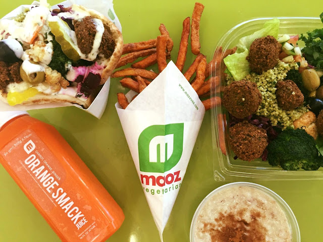Maoz restaurant Barcelone vegan végétalien